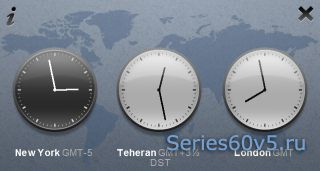 OffScreen World Clock Touch v1.0