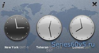 OffScreen World Clock Touch v1.0