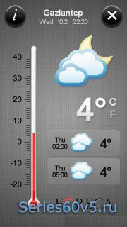 Offscreen Weather Touch v1.0