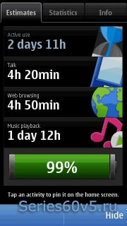 Nokia Battery Monitor v3.0