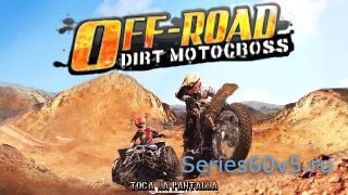 Off-Road Dirt Motocross