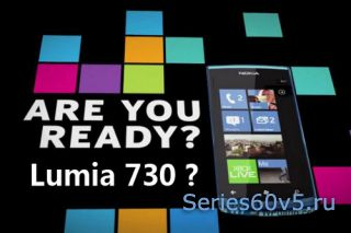 Nokia Lumia 730 основанная на Windows Phone Tango
