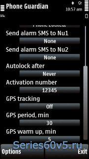 SymbianGuru Phone Guardian v3.01