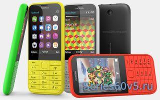 Бюджетные телефоны Nokia 225 и 225 2х симочник
